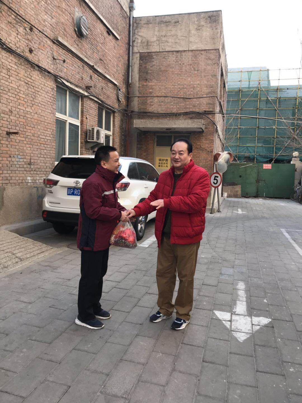 北京市疾控中心慰问春节在岗一线职工 中国科学网www.minimouse.com.cn
